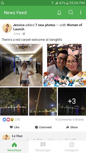 Lite for Facebook & Instagram 1.3.0 screenshots 3