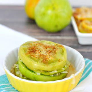 Baked Green Tomato Stack.