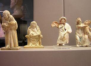 Photo: Terracotta statues Beotia
