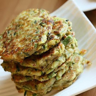 Zucchini Buckwheat Pancakes