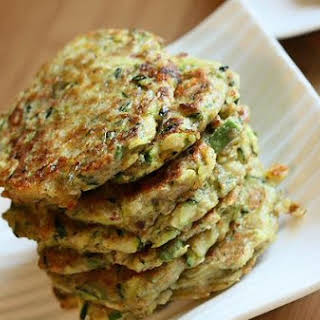 Zucchini Buckwheat Pancakes.