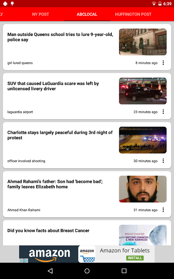 New York City Local News- screenshot