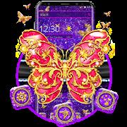 بلينغ الحب موضوع الفراشة APK