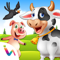 Learn Farm Animals For Kids icon