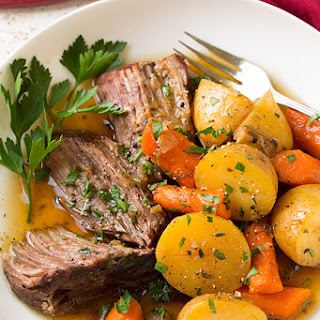 Oven Pot Roast With Potatoes And Carrots Recipes.