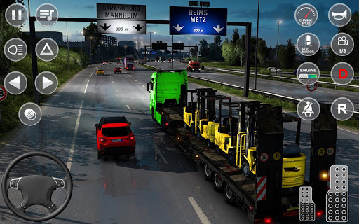 Euro Truck Transport Simulator 2: Cargo Truck Game screenshots 7
