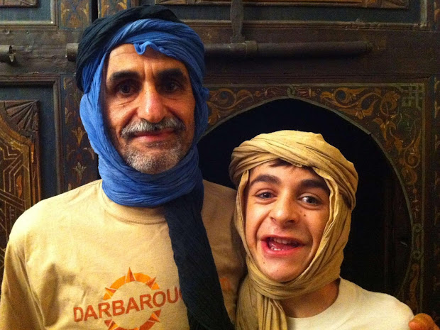 Fadi et son fils Théo