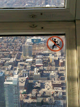 Photo: Spidey's not allowed here.