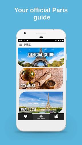 PARIS City Guide, Offline Maps and Tours screenshot 1