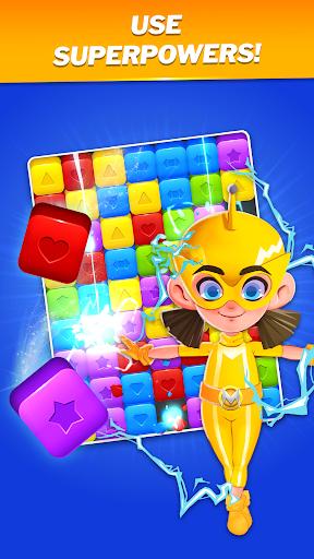SuperHeroes Blast: A Family Match3 Puzzle  screenshots 2