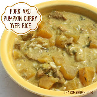 Denise's Pumpkin Pork Curry.