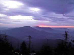 Photo: (12.11.2014) Soumrak nad Beskydy při zatím posledním letošním cyklo výjezdu na Lysou