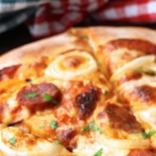 Sourdough Pizza Crust.