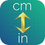 inches to centimeters or centimeter to inch APK icon