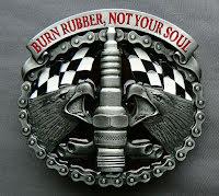 Bältesspänne Burn rubber