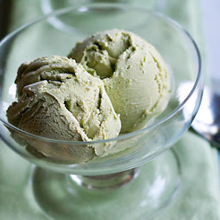Matcha (Green Tea) Ice Cream.