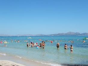 Photo: Am Strand von Son Bauló/ Can Picafort ( siehe auch www.es-coscois.de )