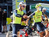 Bauke Mollema blij dat hij na valpartij in de Tour en polsbreuk weer op de fiets zit