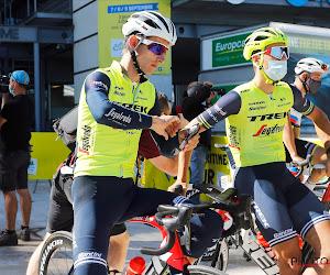 Goedgemutste Bauke Mollema enkele dagen na polsbreuk en exit uit de Tour alweer op de fiets