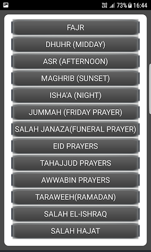 Salah Guides With Pictures All Salahs Prayer screenshot 10