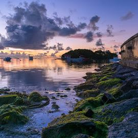 At Sunrise by Rajiv Groochurn - Landscapes Sunsets & Sunrises ( mauritius )