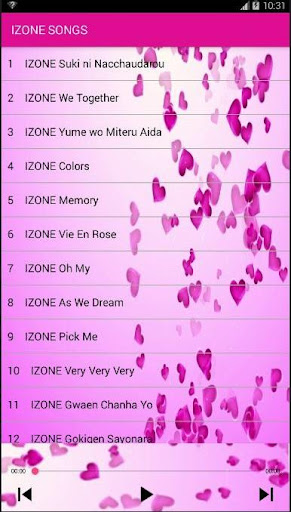 IZONE SONG App Report on Mobile Action - App Store