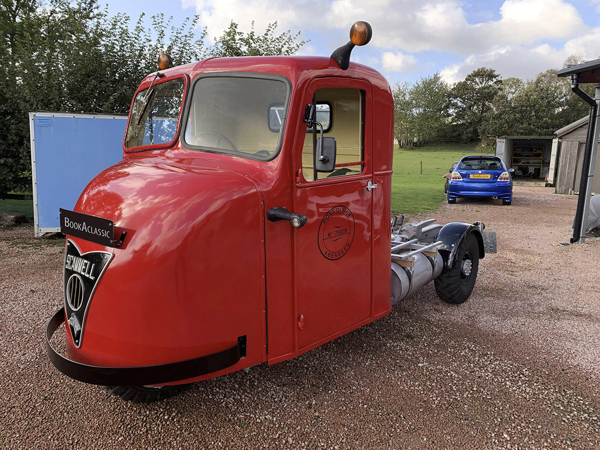 Scammell Scarab Hire Alford