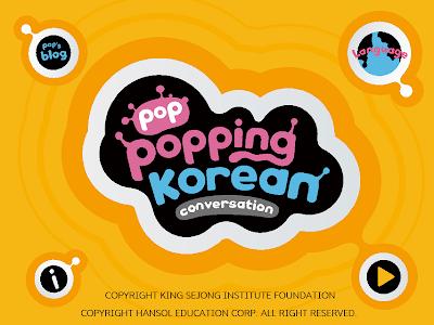 Poppopping Korean–Conversation screenshot 0