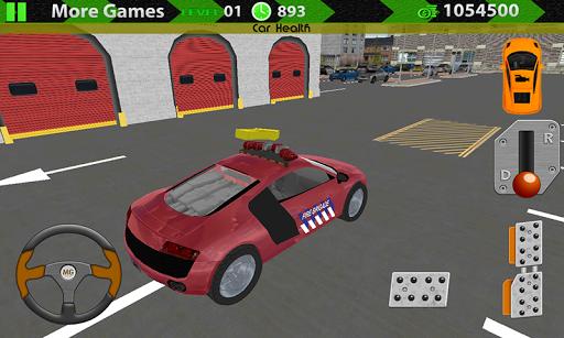 消防員救援停車3D SIM