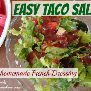 Homemade French Dressing