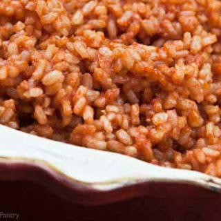 Clean Eating Spanish Rice