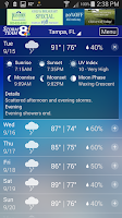 Screenshot of Storm Team 8 Weather MAX