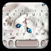Innocent Cute Cat Keyboard Theme