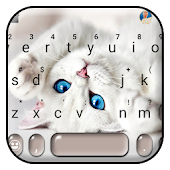 Innocent Cute Cat Keyboard Theme Icon