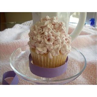 Fluffy White Fairy Cupcakes.