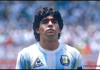 Le premier maillot de Diego Maradona au Mondial (contre la Belgique) est mis aux enchères