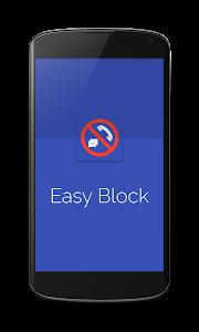 Easy Block Call & SMS Blocker screenshot 0