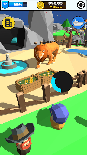 Idle Zoo 3D: Animal Park Tycoon android2mod screenshots 16