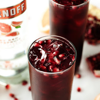 Pomegranate Grapefruit Punch.
