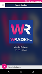 Wradio Belgium - náhled