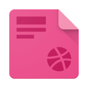 Droidddle – the Dribbble app for PC and MAC