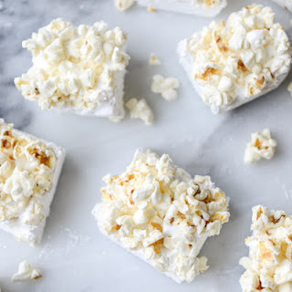 Buttered Popcorn Marshmallow S'mores