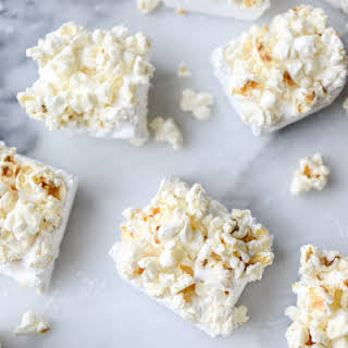 Buttered Popcorn Marshmallow S'mores.
