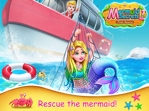 Mermaid Secrets1- Mermaid  Princess Rescue Story 1.3 screenshots 1