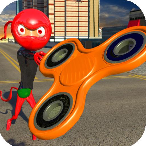 Stickman Fidget Hero Ninja Warrior (game)