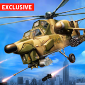 Army Gunship Helicopter Games Simulator Battle War
