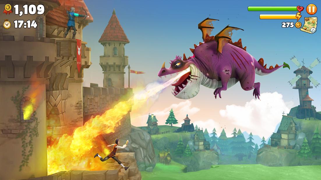 Hungry Dragon™ Android App Screenshot