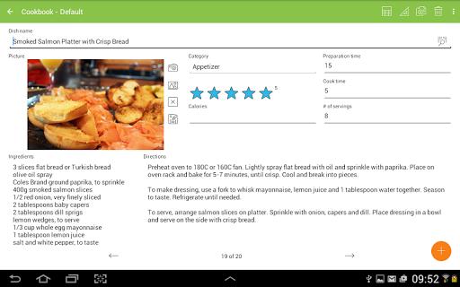 MobiDB Recipes Aplicaciones (apk) descarga gratuita para
