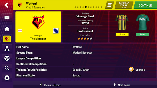 Football Manager 2019 Mobile 10.0.3 Apk Mod + Data Latest Version Download 3