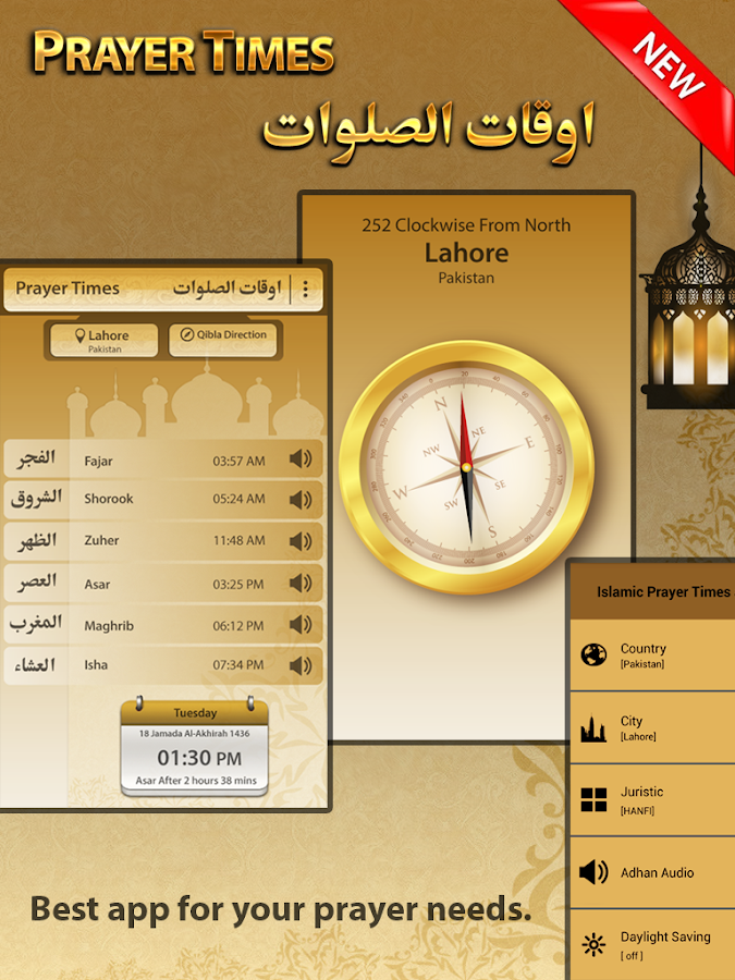 Islamic Prayer Times & Qibla - Android Apps on Google Play